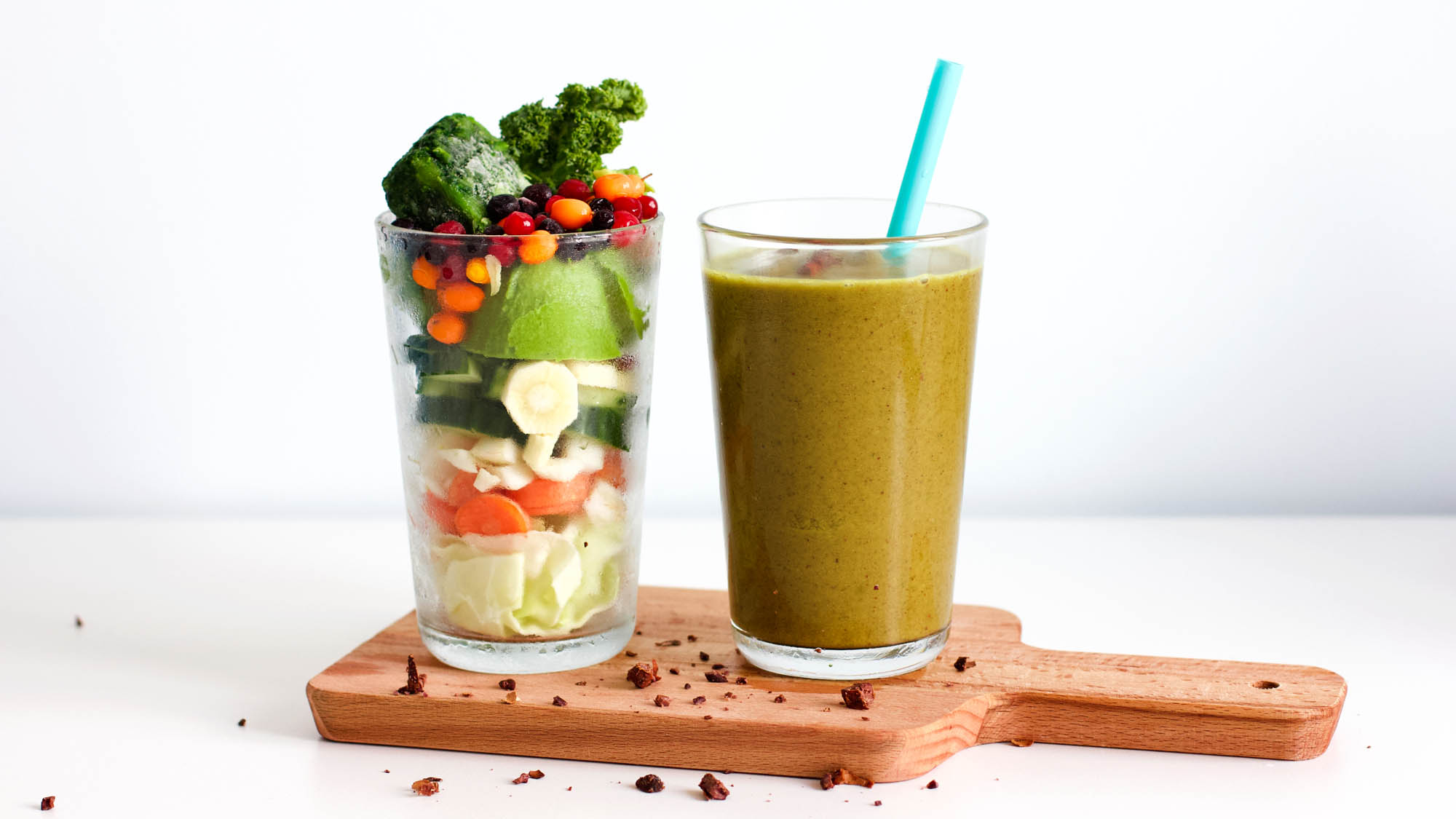 Super Green Shot Energy Smoothie