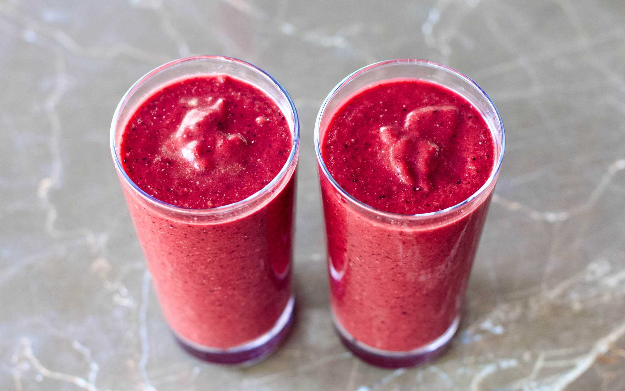 Refreshing Spicy and Sweet Red Smoothie
