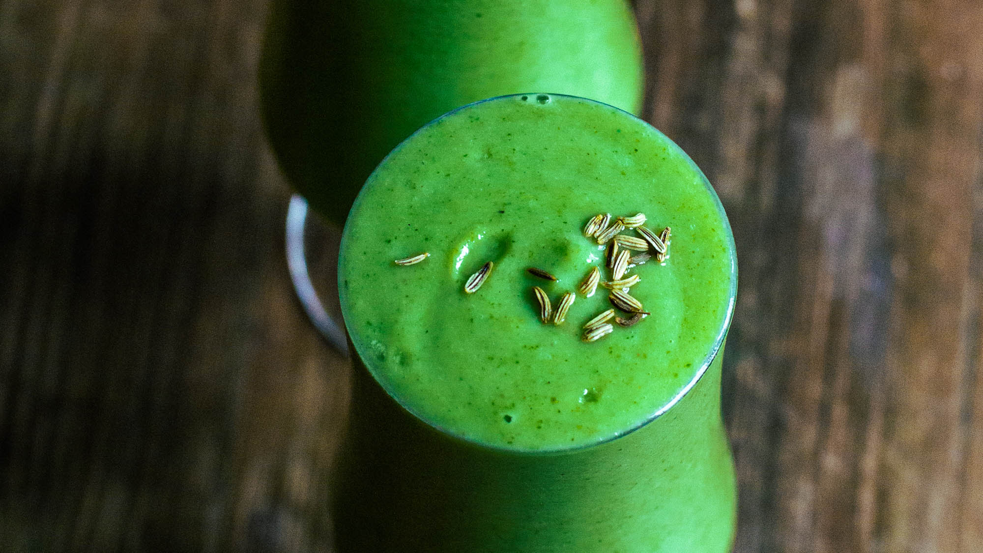 Refreshing Green Smoothie for Autumn Days