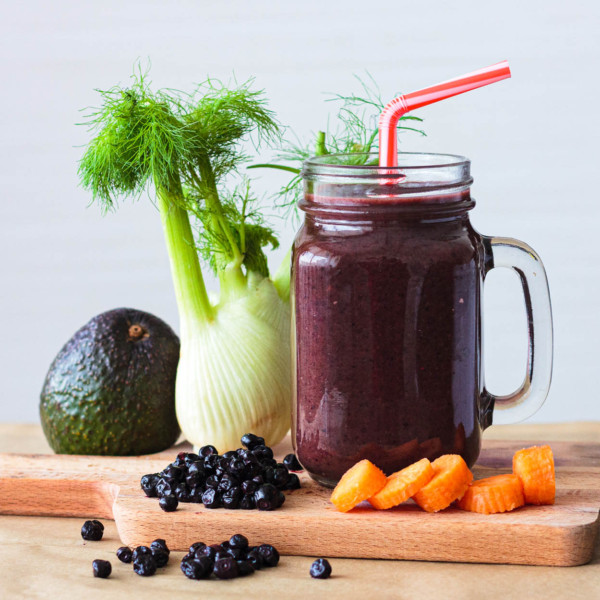 Berries and Spinach Smoothie Mix