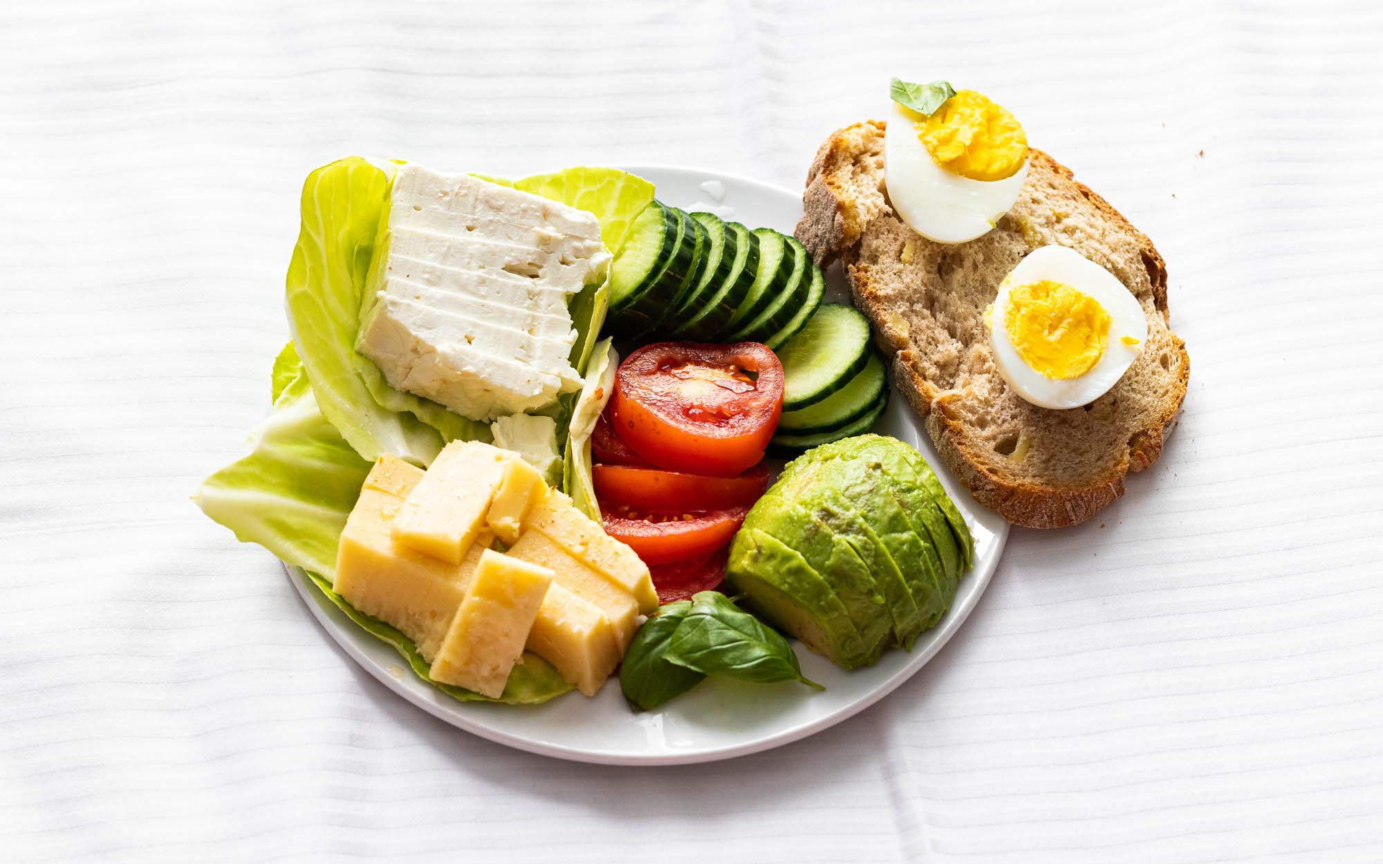 Quick Healthy Vegetarian Plateau
