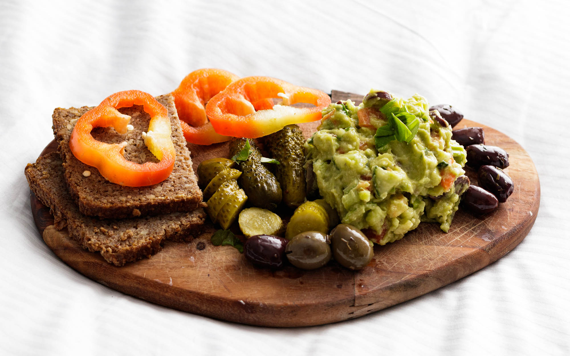 Simply Delicious 5-Minute Vegan Plateau